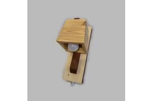 Світильник стельовий дерев'яний. Люстра для дитячої, кухні, вітальні