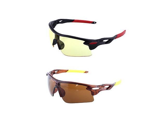 """продам Велосипедні окуляри """"Oulaiou"""" бу в Великій Березовиці"""