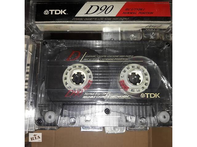 продам Аудіокасети TDK D90 бу в Киеве