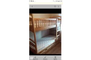 Двухярусная кровать Карина + ящики  + матраси