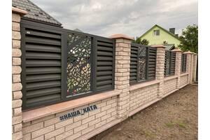 Забор жалюзи от наша хата