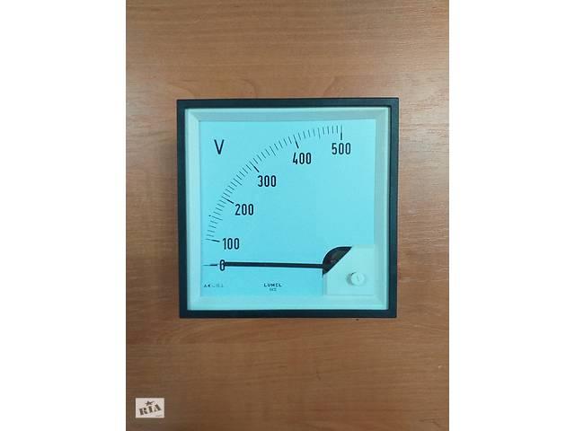 купить бу Аналоговый вольтметр LUMEL EA 12N E615500V. Польша в Дубно