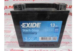 Б/у Аккумуляторная батарея дополнительная EK131 Exide start-stop для Mercedes W211 2003-2009 2.2cdi 2.7cdi 3.0cdi