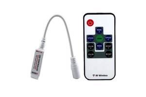 Беспроводной контроллер 3к RGB LED лент, 12-24В
