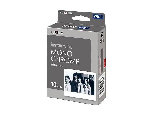 продам Папір Fujifilm COLORFILM INSTAX WIDE MONOCHROME (108х86мм 10шт) (70100139612) бу в Харкові