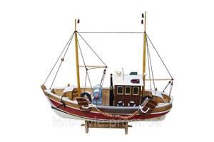 Декоративный корабль Sea Club 550183 46х15х39 см. деревянный