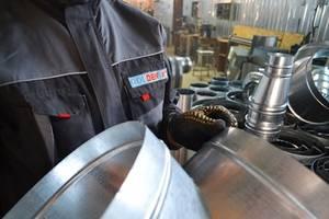 Дымоход для бани сауны котла / Производственный цех