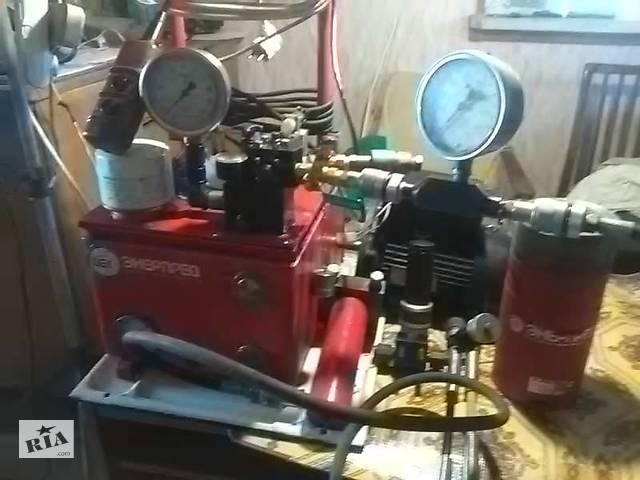 купить бу Гидравлическая насосная станция высокого давления с электроприводом в Циркунах