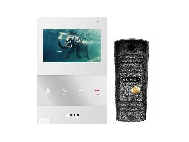 купить бу Комплект видеодомофона Slinex SQ-04_W+ML-16HR_A в Киеве