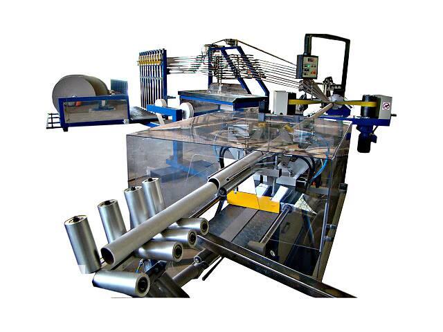 Линия для производства картонных гильз
