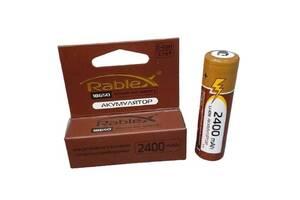 Литий-ионный аккумулятор 18650 Rablex 2400 mAh 3.7 V (Li-ion) Original