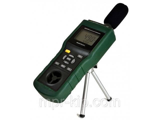 Mastech MS6300 5 в 1: шумомер, анемометр, термометр, люксметр и гигрометр- объявление о продаже  в Львове