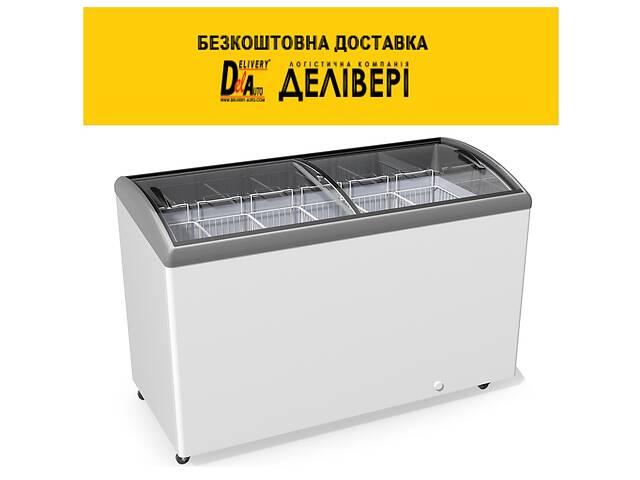 Морозильный ларь JUKA M 500 S гнутое стекло, подсветка- объявление о продаже  в Киеве