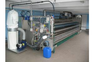 Устаткування з прання та чищення килимів і килимових покриттів