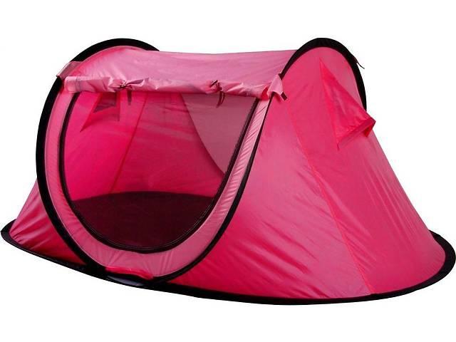 продам Одноместная туристическая палатка Kingcamp, красная, однослойная, стальной каркас Venice(KT3071) Rose red бу в Киеве