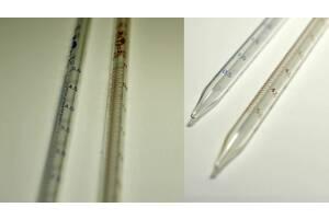 Пипетки градуированные на неполный слив 1,2,5 мл цена