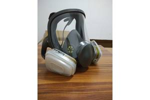 Повна, аналог 3М маска 6800, висока якість