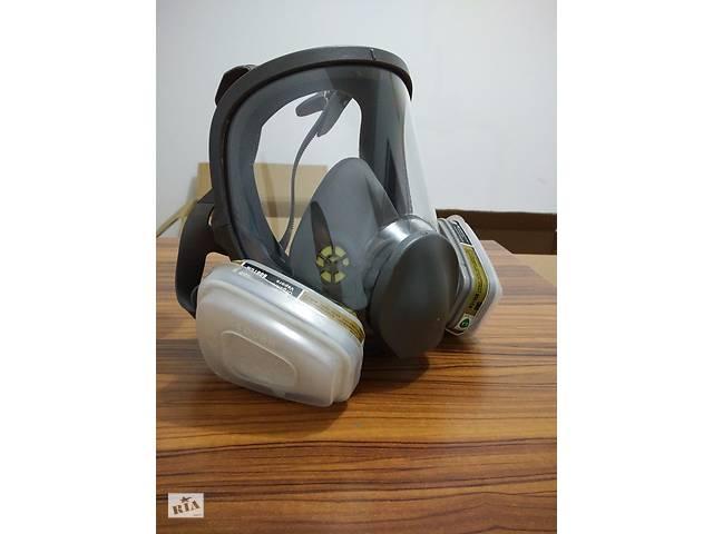 продам Полнолицевая, аналог 3М маска 6800, высокое качество бу в Хмельницком