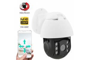 Поворотная уличная IP камера видеонаблюдения 19H WiFi xm 2 mp (14065)