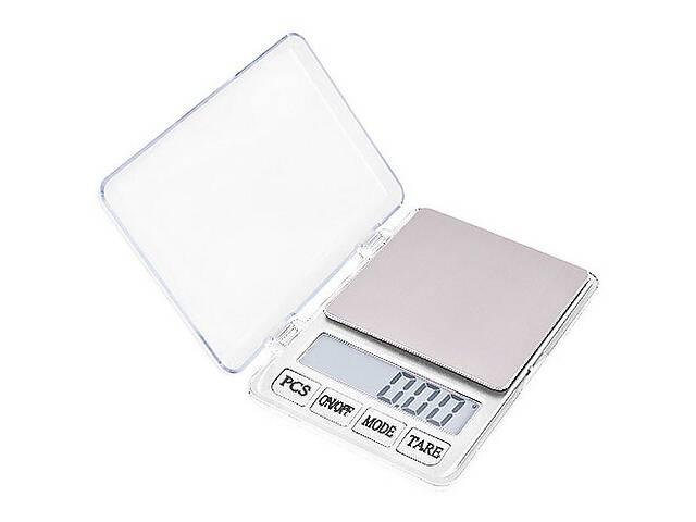 бу Профессиональные ювелирные весы xy-8007 до 600 грамм шаг 0.01 white (bks_02230) в Киеве