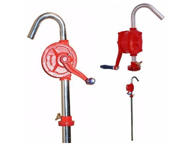Ручной бочковой насос для перекачки дизтоплива и масла 20л/мин KS-25