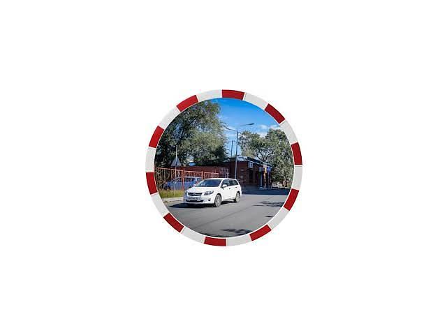 купить бу Сферическое дорожное зеркало безопасности Mega 600(диаметр 600мм) в Киеве