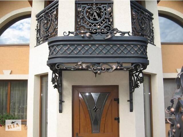 Лестницы металлические, лестницы сварные, ворота металлические, ворота сварные, кованые ворота, кованые лестницы, кованые козырьки, металлические козырьки.- объявление о продаже  в Луцке