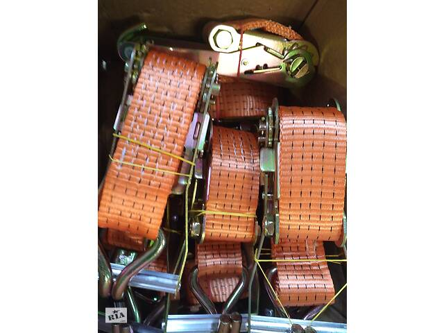 купить бу Стяжные ремни с трещёткой, стропа текстильные грузовые в Одессе
