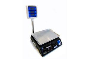 Торговые электронные весы до 50 кг Kronos 208 со стойкой (gr_003810)