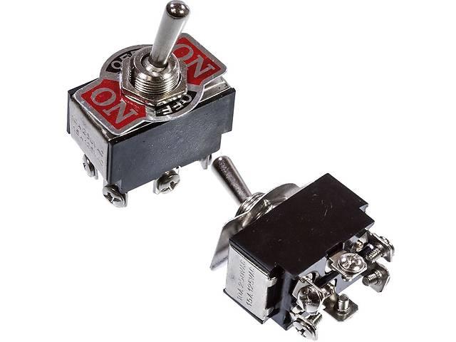 Тумблер KN(3)С-203 ON-OFF-ON (6 pin) 15А;  250VAC