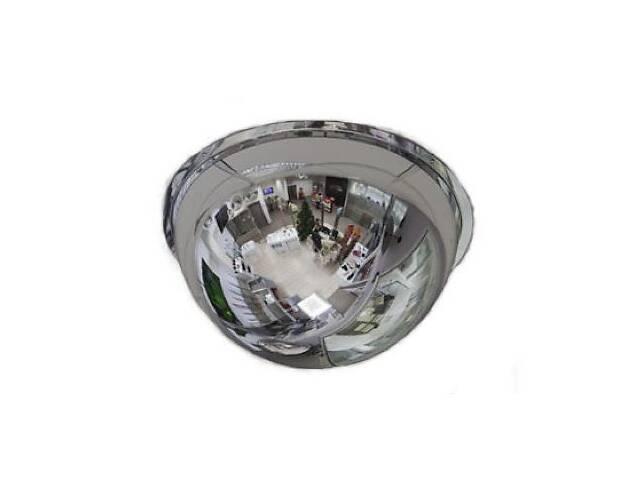 купить бу Зеркало Купольное Megaplast 1000x360 для кругового наблюдения. в Киеве