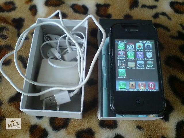 купить бу iPhone 4-32Gb в Киеве