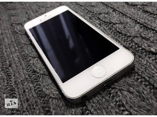 бу iPhone 5 16 Gb White Neverlock в Харькове