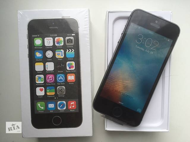 бу IPhone 5S 32GB Grey Новый. Оригинал. NeverLock в Днепре (Днепропетровск)