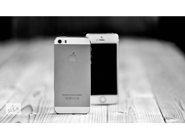 iPhone 5S Neverlock Silver- объявление о продаже  в Одессе