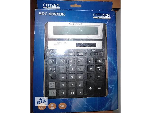 бу Калькулятор CITIZEN SDC-888XBK в Харькове