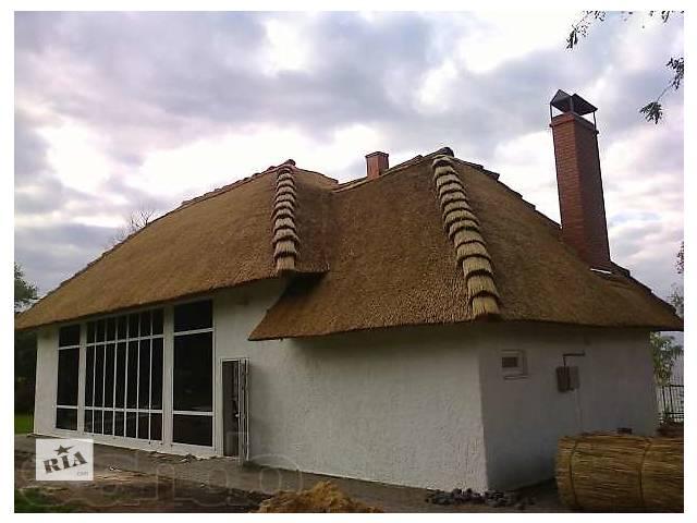 купить бу Камышовая кровля (крыша ) , камыш в Миргороде