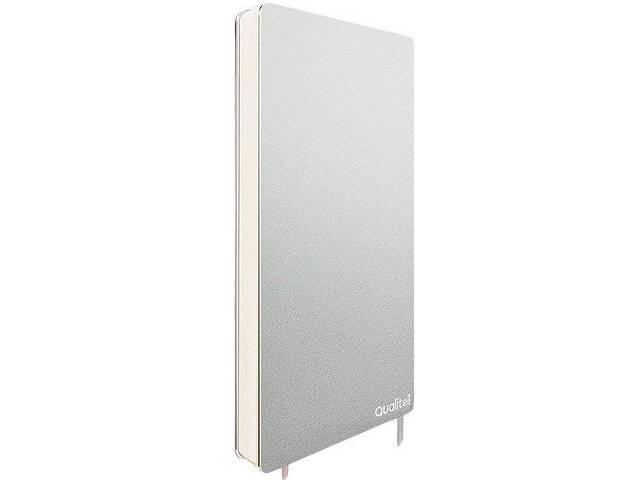 бу Блокнот QualiteLL Aluminum Notebook Silver 3007662, серый в Киеве