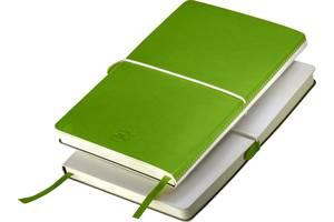 Блокнот Thinkme Franky зеленый с мягкой обложкой