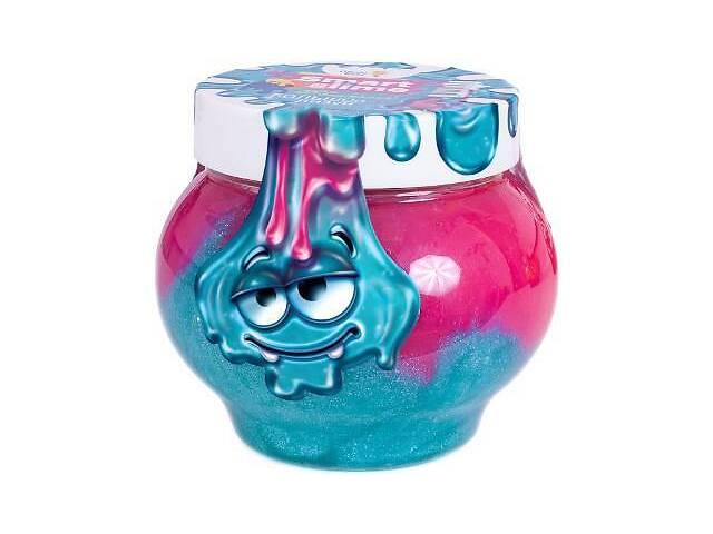 купить бу Детская игрушка лизун «Мялка-жмялка» 2-в-1 Genio Kids, розово-голубая в Киеве