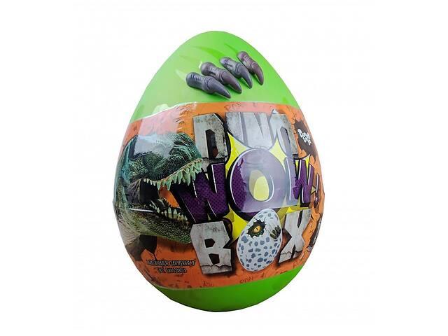 продам Детский набор креативное творчество Danko Toys со скелетами динозавров Dino WOW Box зелёный бу в Киеве