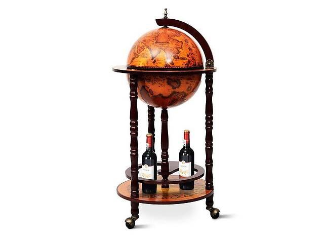 продам Глобус бар напольный на 3-х ножках 480003 330 мм коричневый бу в Киеве