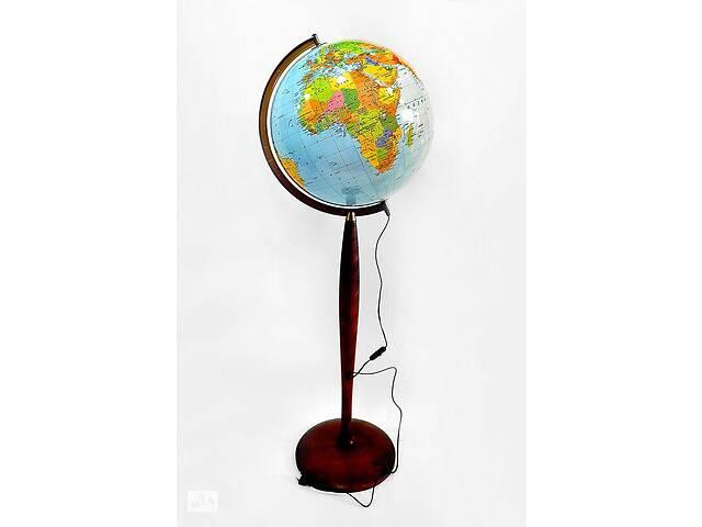 продам Глобус с подсветкой напольный 320 мм политико-физический (рус.) BST 540123 бу в Киеве