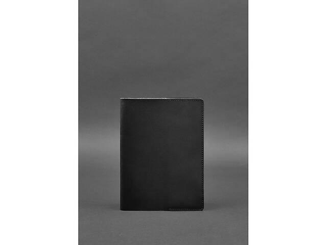 продам Кожаная обложка для блокнота 6.0 (софт-бук) черная Краст BlnkntBN-SB-6-g бу в Киеве