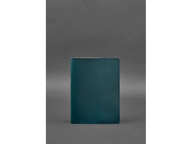 Кожаная обложка для блокнота 6.0 (софт-бук) зеленая BlnkntBN-SB-6-malachite- объявление о продаже  в Киеве