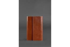 Кожаный блокнот (Софт-бук) 5.1 светло-коричневый BlnkntBN-SB-5-1