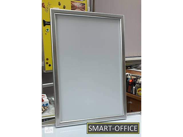 купить бу Магнитный маркерный планшет в рамке для рисования, обучению письму, может быть с нанесением клетки или линейки/косой в Киеве
