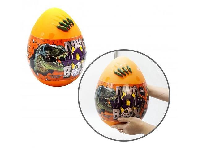 продам Набор для детского креативное творчество Danko Toys яйцо сюрприз Dino WOW Box оранжевый бу в Киеве