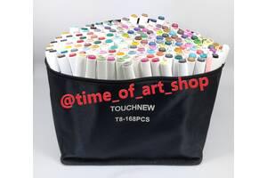 Новая серия! Маркеры TouchEight 168 цветов. TouchNew. Доставка бесплатно