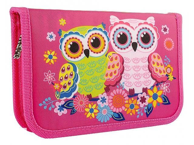 Пенал твердый Smart Owls розовый- объявление о продаже  в Киеве